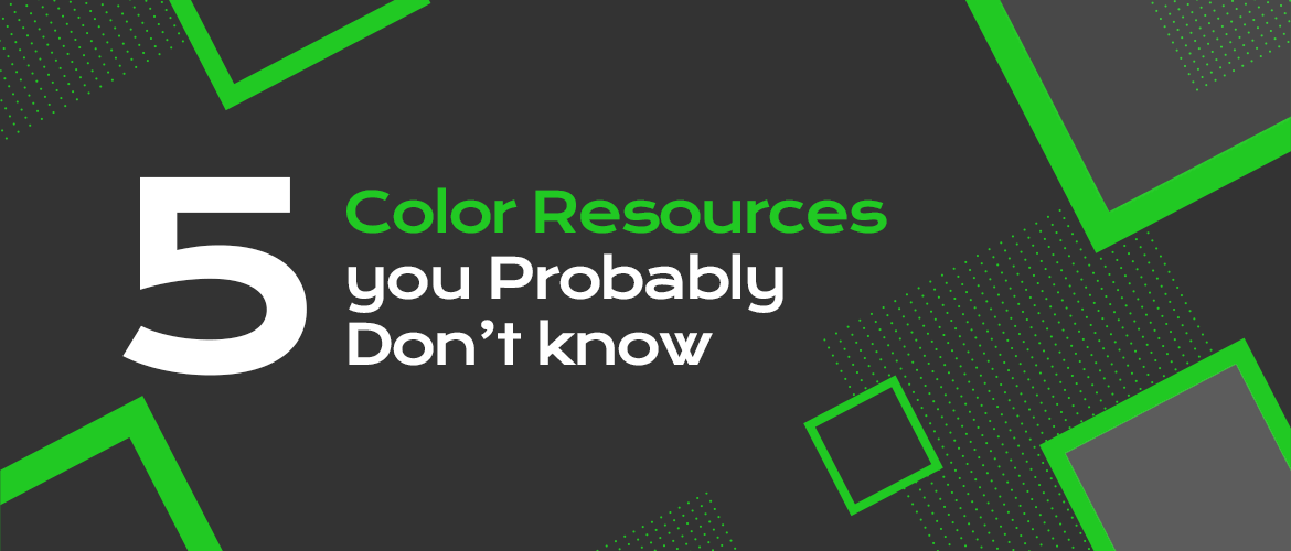 5 Color Resources you probably don't know